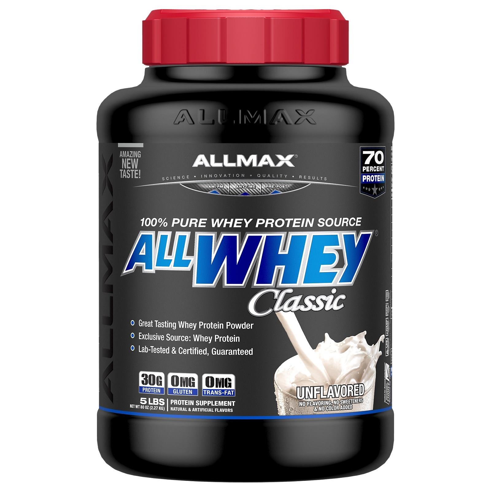 ALL WHEY CLASSIC UNFLAVORED