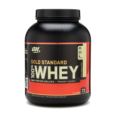 GOLD STANDARD 100% WHEY  **5 LB**